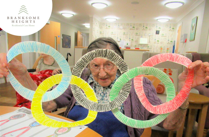 Making Olympic rings and medals