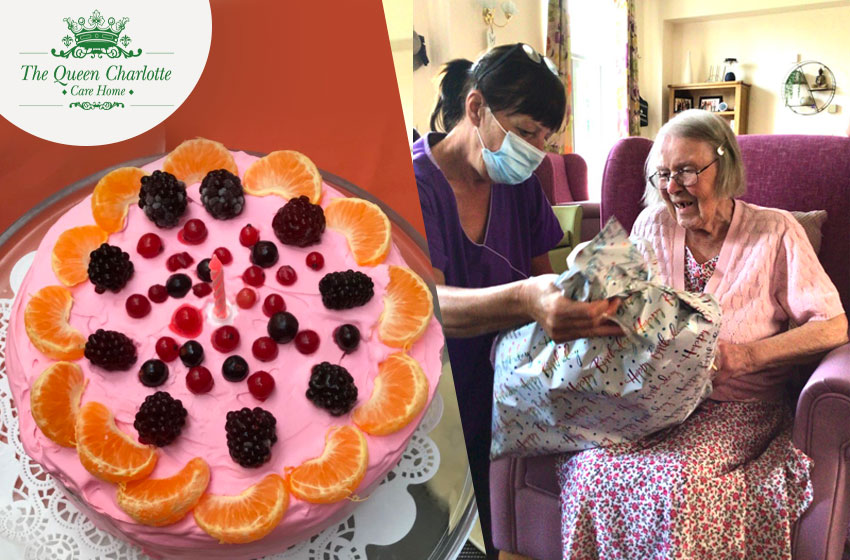 Florrie celebrated her 96th birthday
