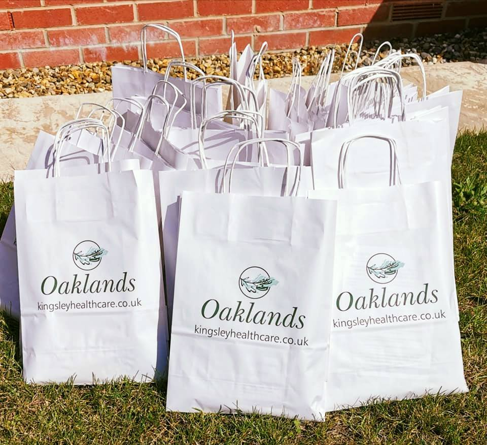 Oaklands care home proud to support the local community