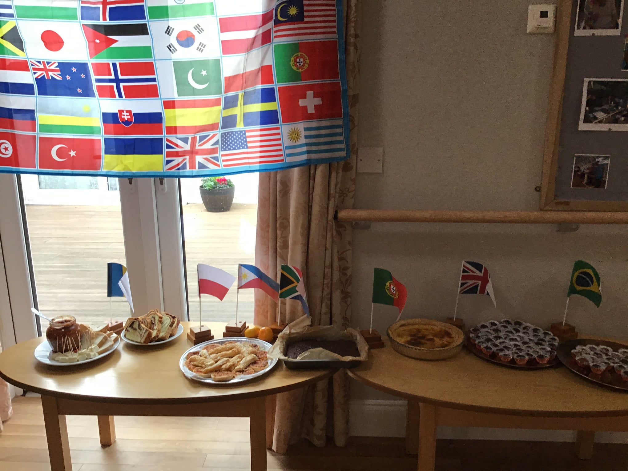 Celebration of World Food Day at Spring Lodge