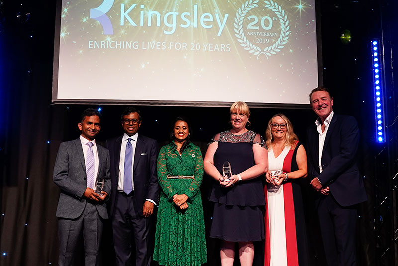 Kingsley CEO Daya Thayan paid warm tributes to staff and business partners at the company s 20th anniversary