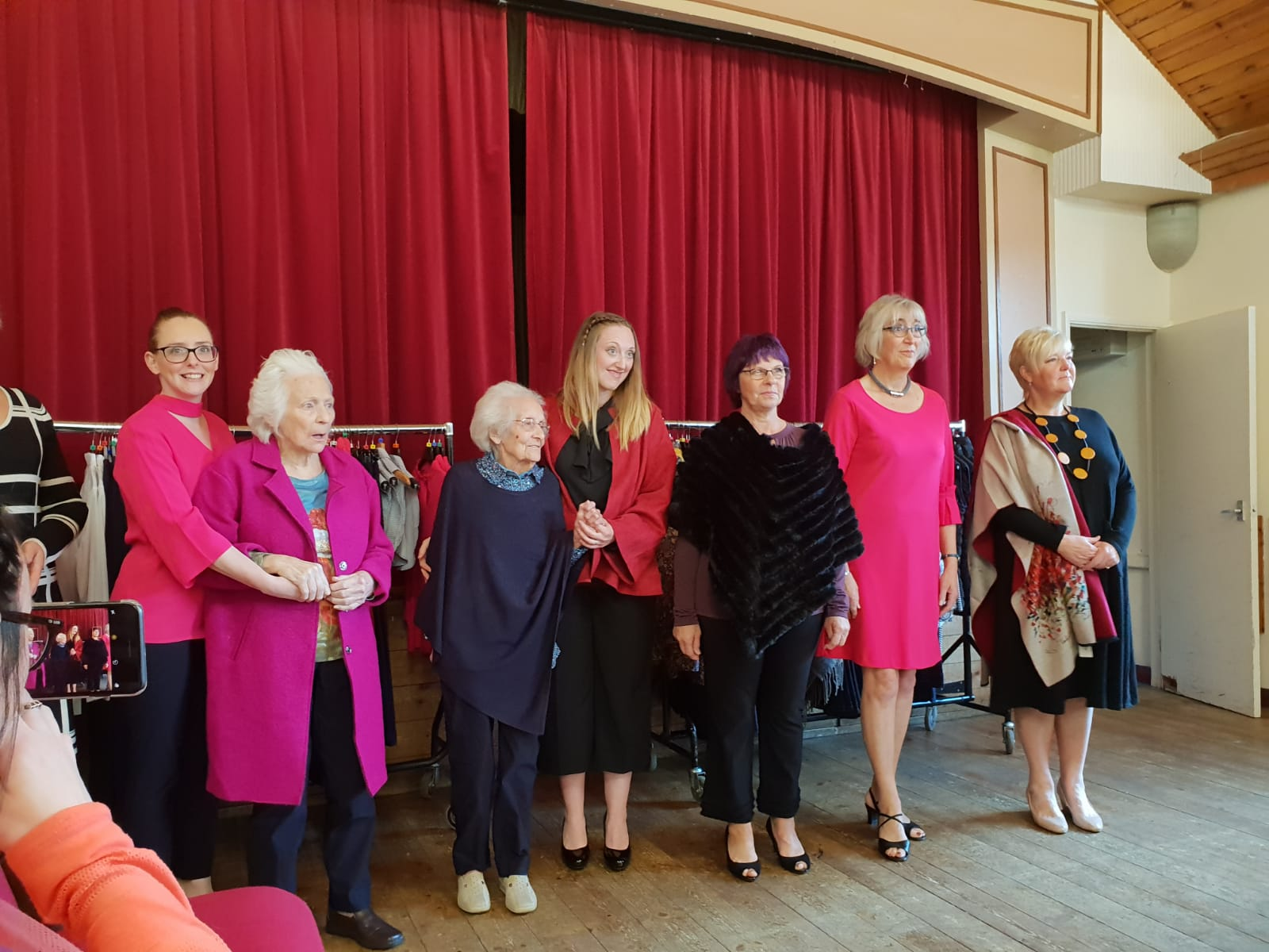 Spring Lodge residential home attended the Artichoke Collection Fashion Show