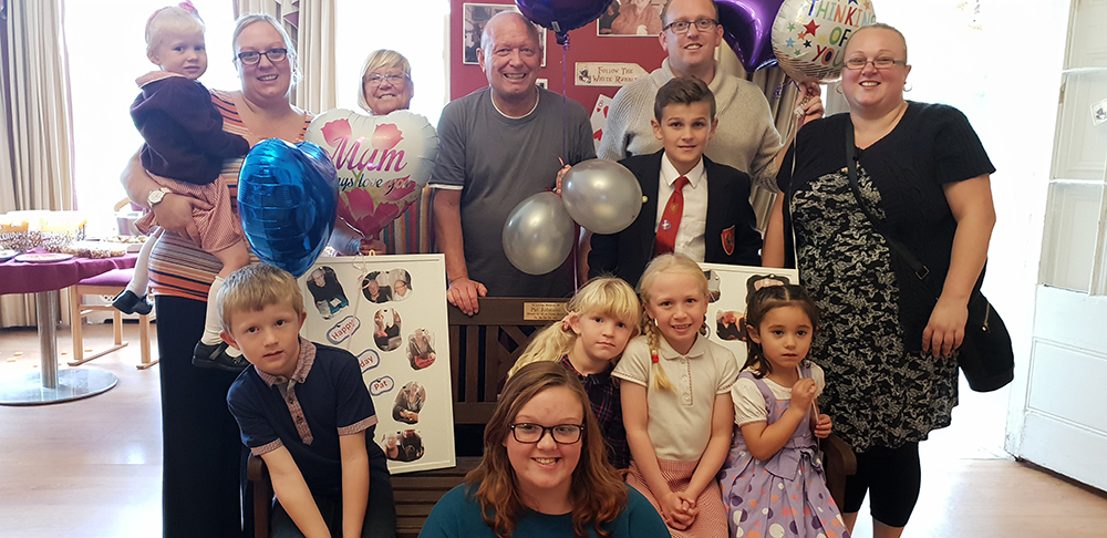Tribute to much love Colne House resident Patricia