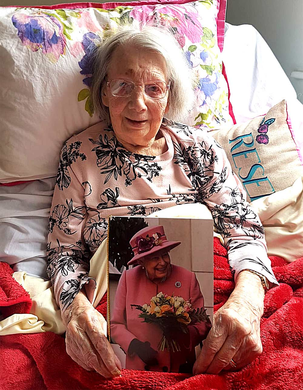 Our inspirational resident Grace shared her amazing life story