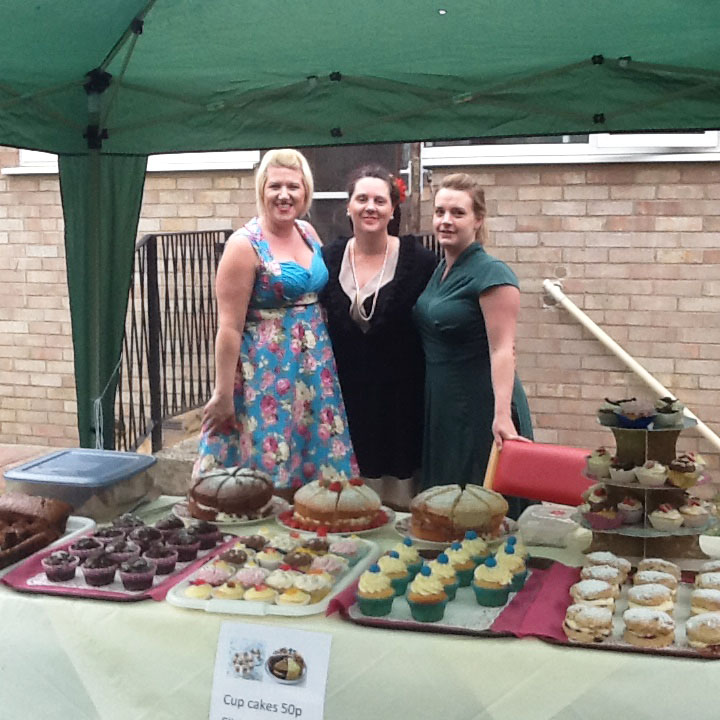 Staff, residents and families at Thorp House nursing home in Griston had a successful 1940s themed Garden Fete