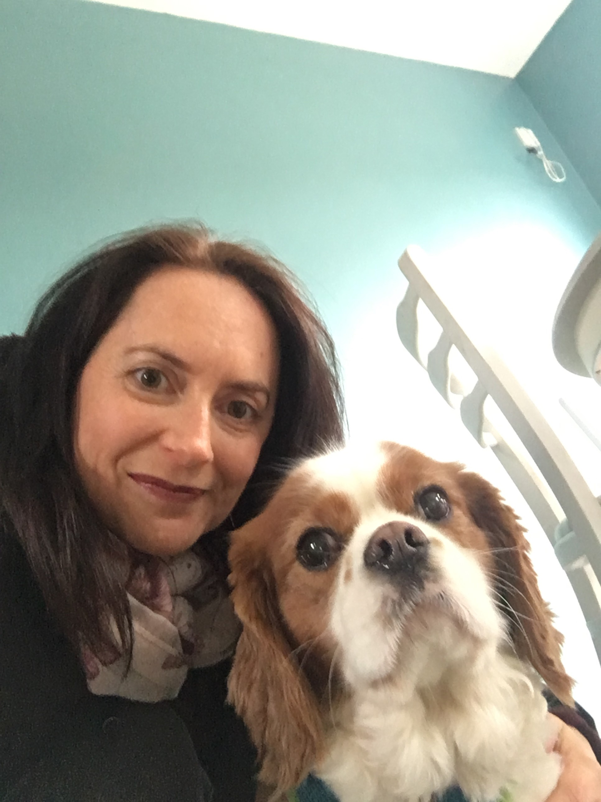 Bailey becomes a real star at Timperley Nursing Home!