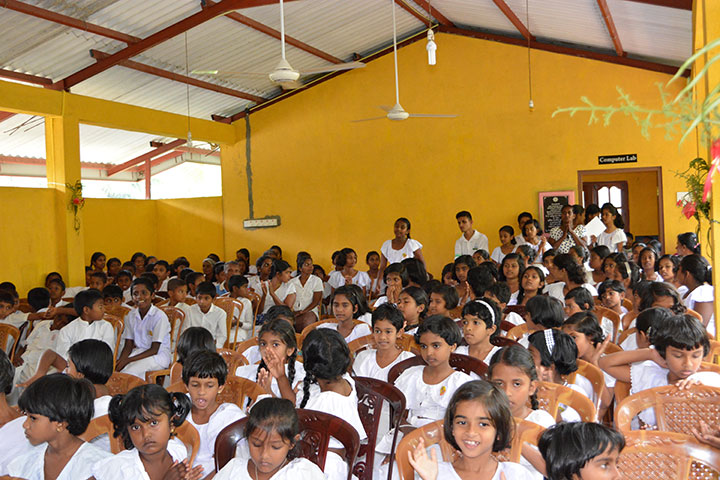 Kingsley CEO Daya Thayan and Sumi Thayan continued their charity work during their recent visit to Sri Lanka.
