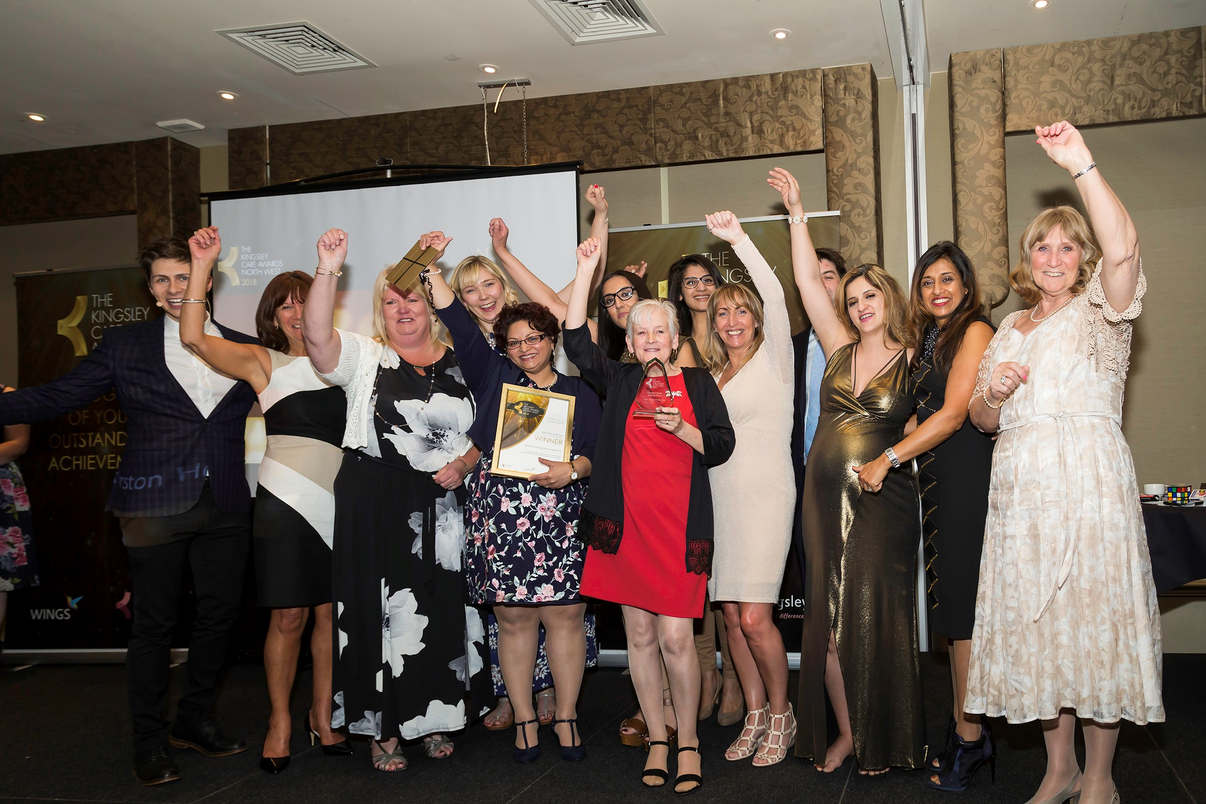 The passion and dedication of care home staff was put under the spotlight at the inaugural Kingsley North West Care Awards