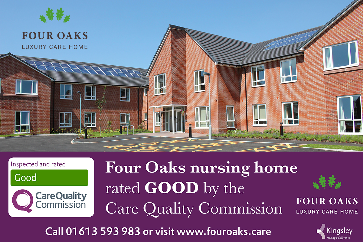 Four Oaks are proud to be GOOD