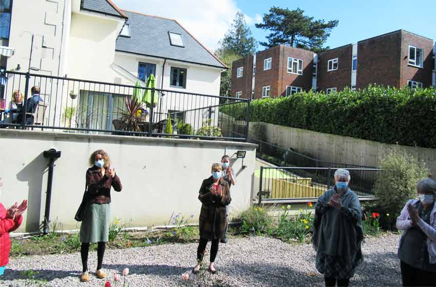 Branksome Heights care home holds memorial service for those who died during pandemic