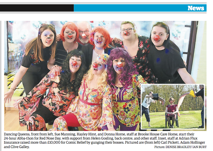Thousands put on a red nose to raise money for this great cause