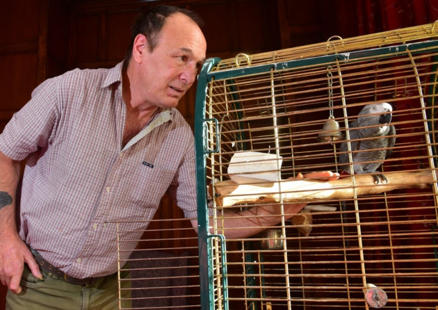 Parrot learns to mimic sound of alarms at Brooke care home
