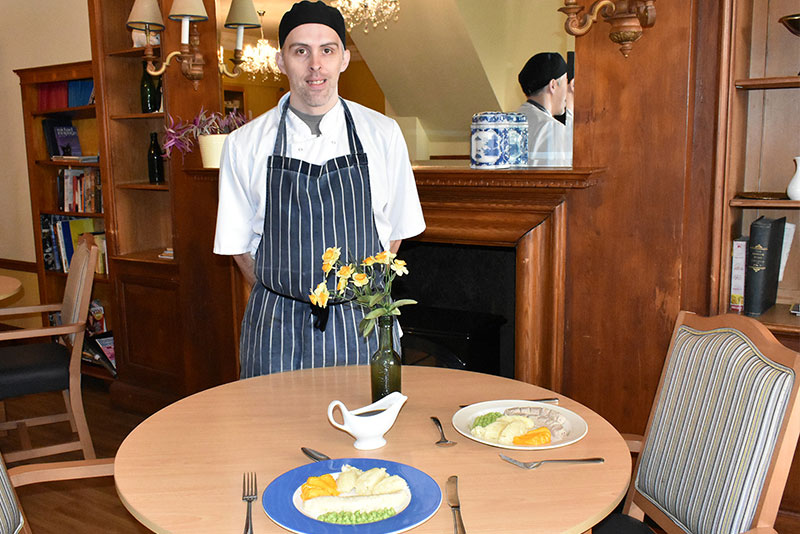 Brooke care home chefs get creative with residents' food