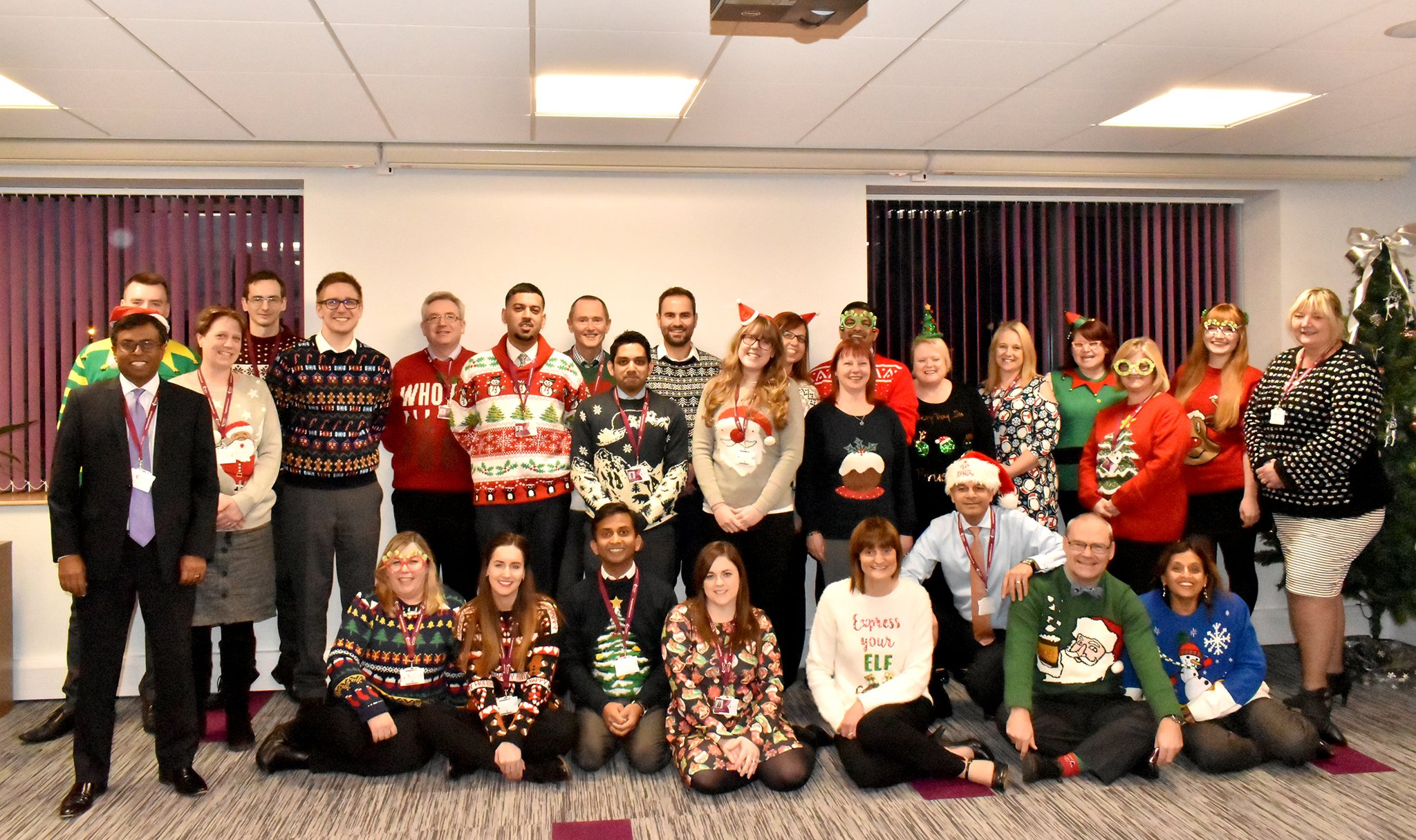 Charity's Christmas Jumper Day fundraiser