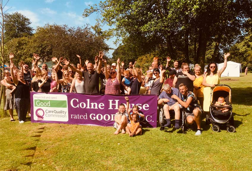 Colne House celebrates glowing CQC report
