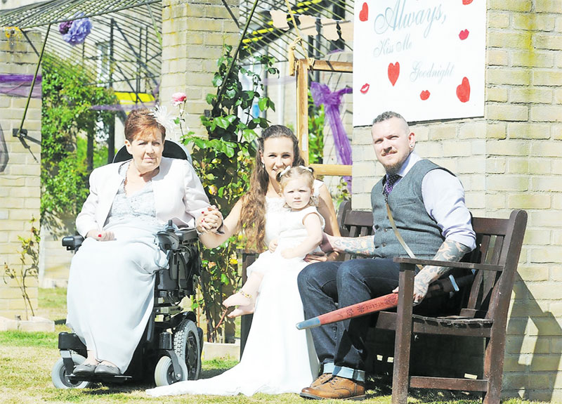 Love Storey has a very happy ending thanks to care home