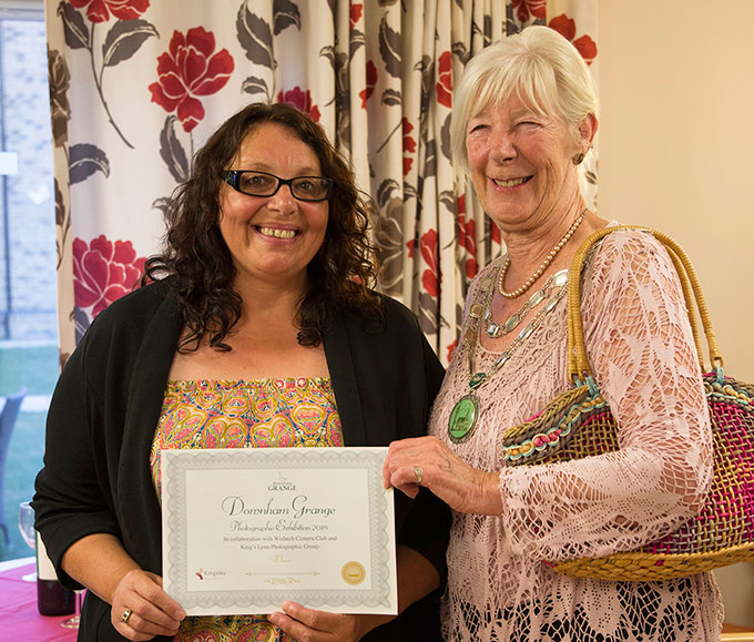 The richness of local photographic talent impressed Mayor of Downham Market