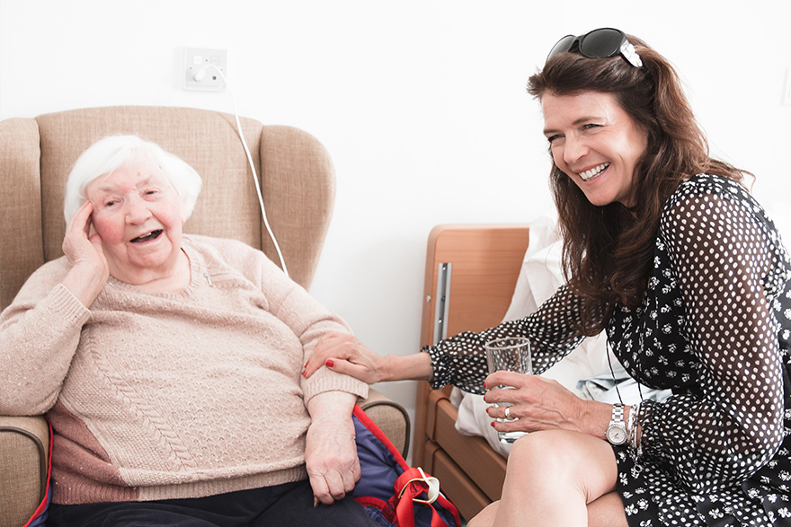 Tennis star Annabel Croft is guest at Four Oaks nursing care home opening in Manchester
