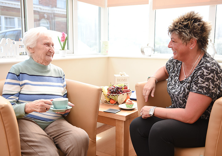Caring for someone at home is a demanding and often lonely task and with an ageing population