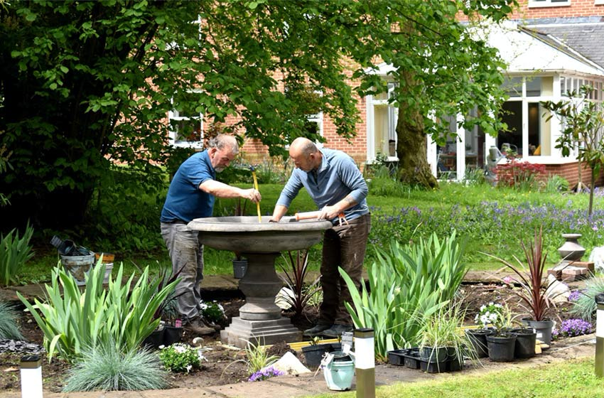 Public invited to opening of community memorial garden at Hadleigh Nursing Home