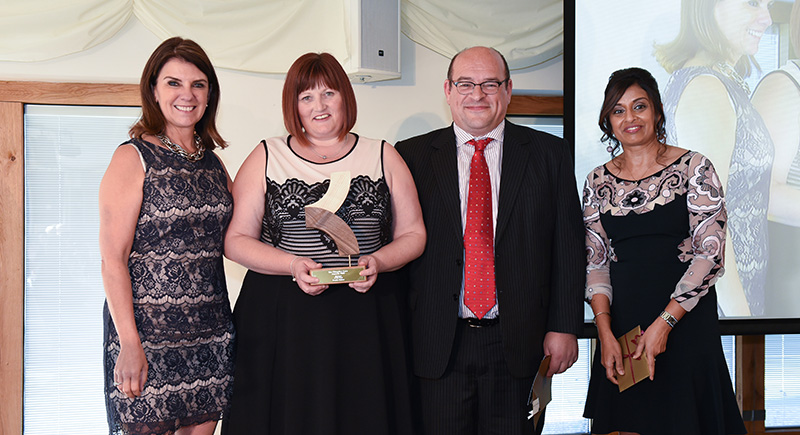 Healthcare firm hands out awards to its staff