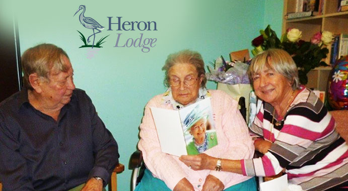 Elsie Ayton celebrated her 106th birthday on Friday at Heron Lodge care home in Wroxham.
