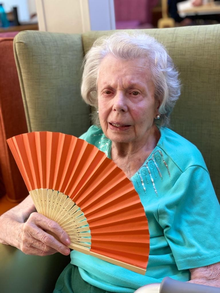 Resident Doris from Highcliffe Nursing Home shares her incredible life story