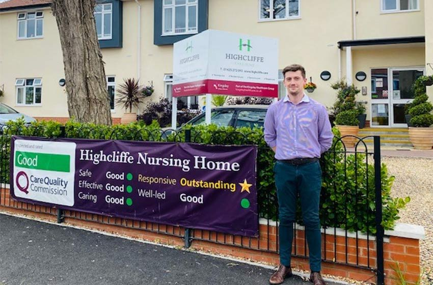 A big welcome to Cemlyn as Highcliffe's trainee manager