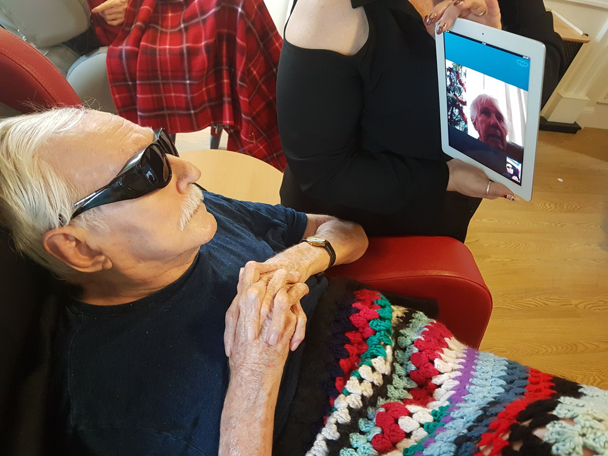 Skype calls keep couple together - despite 10,000 miles separation