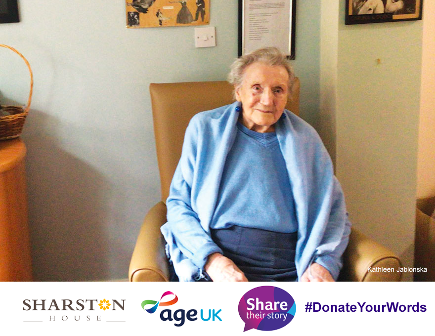 A campaign by Age UK & Cadbury UK to showcase the life stories of older people had immediate appeal for 92-year-old Kathleen Jablonska