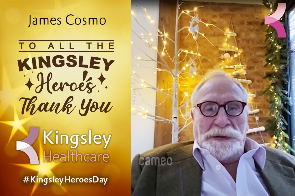 Celebrity Message to Healthcare Heroes - Thank You to all our Kingsley Staff