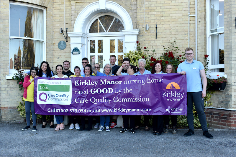 Kirkley Manor is proud to be GOOD