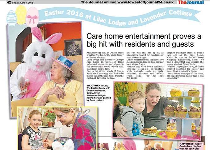 Care home entertainment proves a big hit with residents and guests