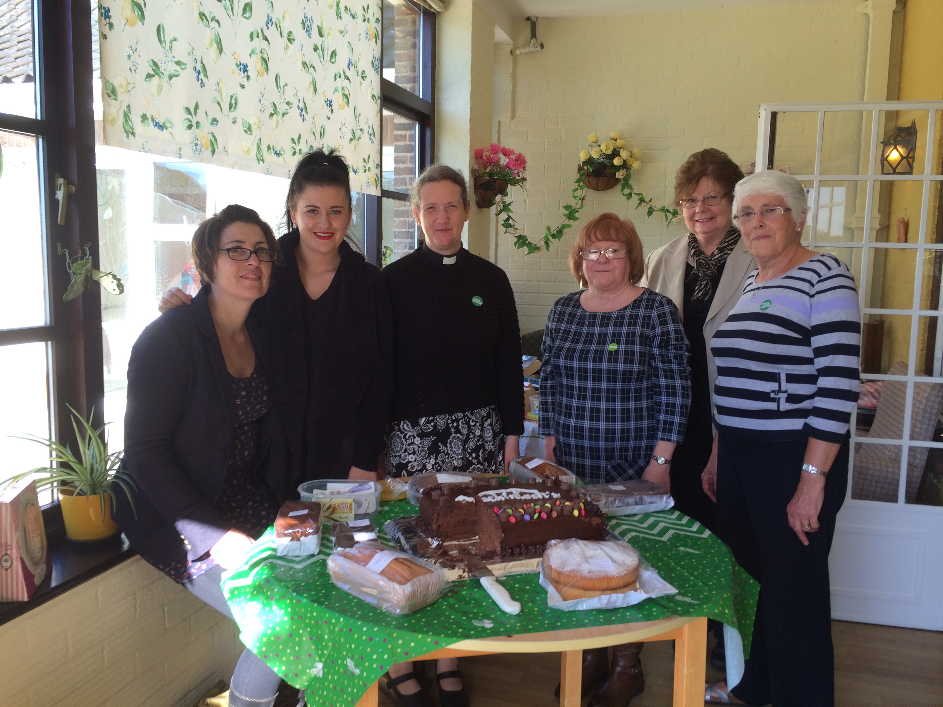 Brooke House care home found a sweet way to raise money for Macmillan Cancer Support