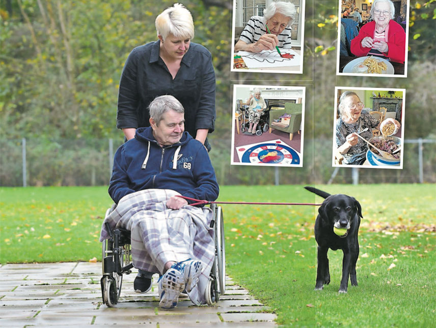 Mollie's got it licked as care homes adapt to residents
