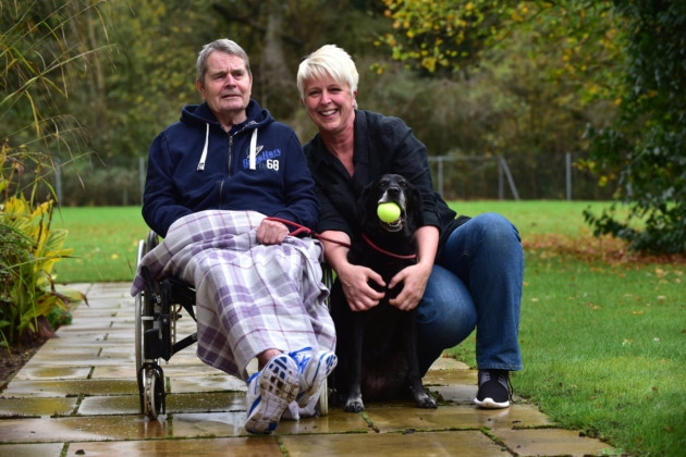 Two chihuahuas and a labrador brighten life at Scole care home