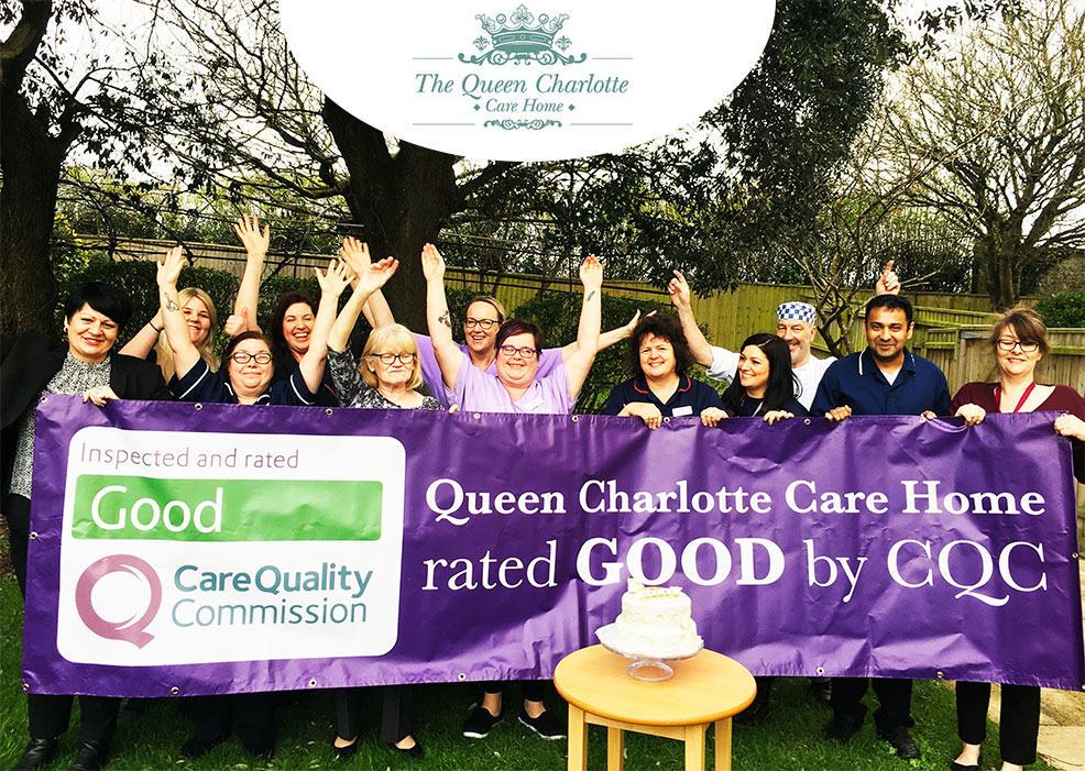 Queen Charlotte Nursing Home, near Weymouth, has retained its rating of good following an inspection by the Care Quality Commission (CQC)