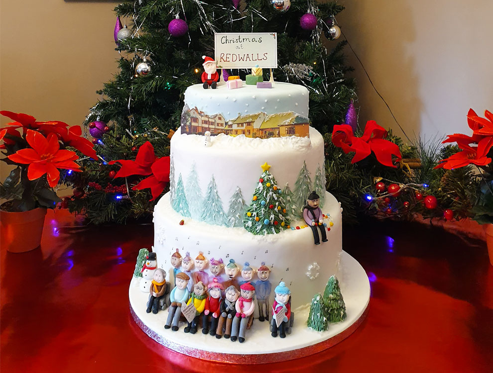 Redwalls Wins Christmas Cake Competition