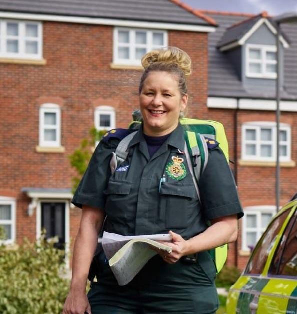 Paramedic to speak at Sharston House coffee morning