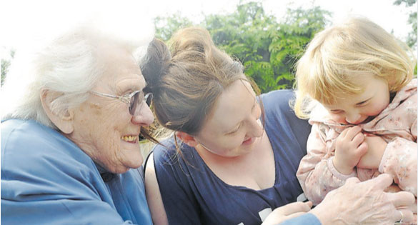 Care home marks anniversary and welcomes