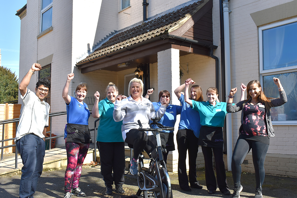 Bike Marathon at Thorp House