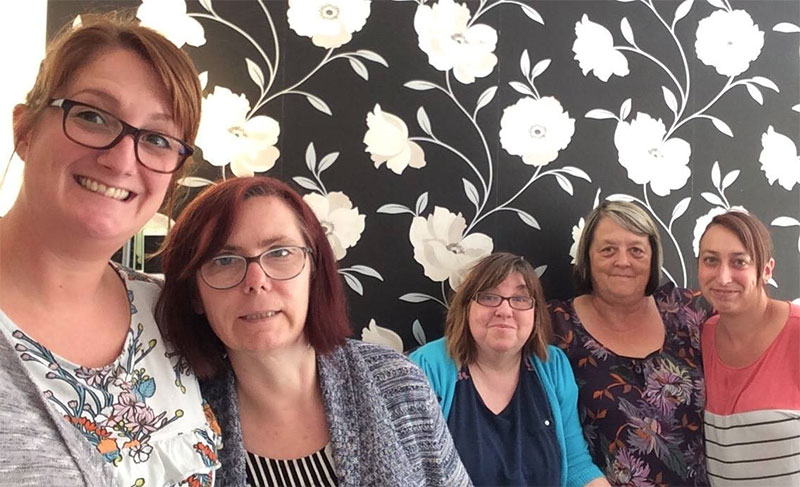 Staff at a learning disability home in Nacton Road, Ipswich are celebrating their latest Care Quality Commission report