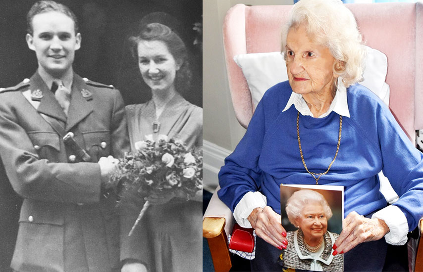 A woman who worked for the Free French at their London headquarters during the Second WW has celebrated her 100th