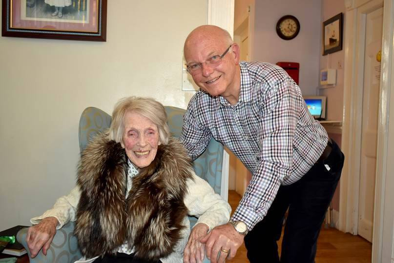 Former Swedish beauty queen celebrates 104th birthday at Woodbridge Lodge!