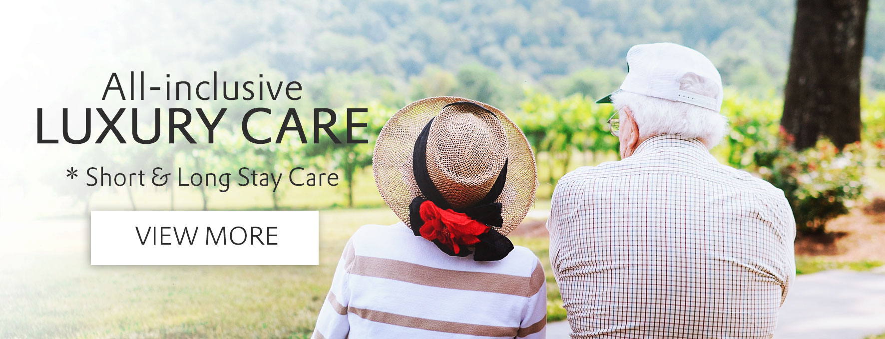 all inclusive luxury retirement care homes