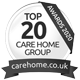 awards from top20 care awars carehome.co.uk 2020