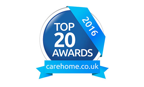 Top 20 care home group award - 2016