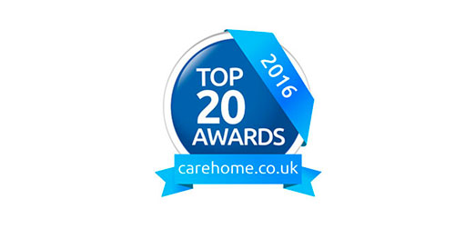 top 20 large care home group award