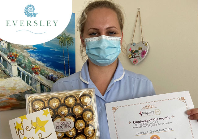 Employee of the month at Eversley