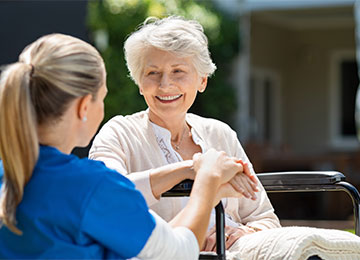 personal care & beauty treatments at Park Lane Residential Care Home